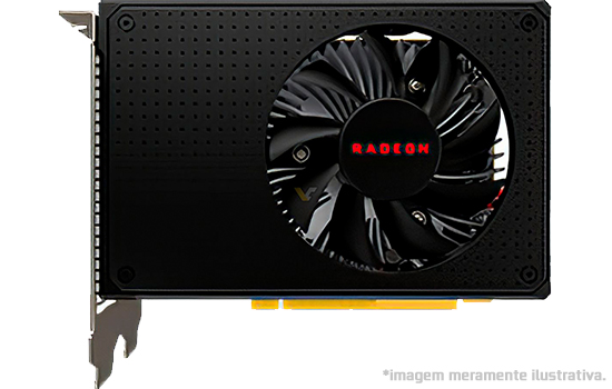 Placa de Vídeo AMD Radeon RX 550
