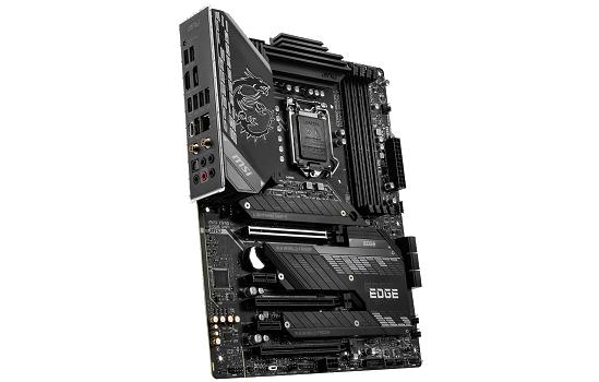 Placa Mãe MSI MPG Z590 GAMING EDGE WIFI, Intel Z590 Chipset, Socket 1200, ATX, DDR4