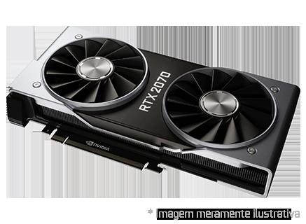 Placa de Vídeo NVIDIA GeForce Rtx 2070