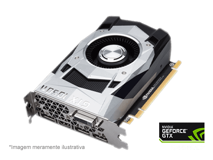 Placa de Vídeo NVIDIA GeForce GTX 1050 Ti