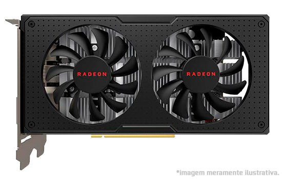 Placa de Vídeo AMD Radeon RX 590