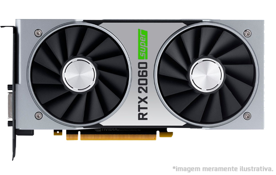 Placa de Vídeo NVIDIA GeForce Rtx 2060 Super