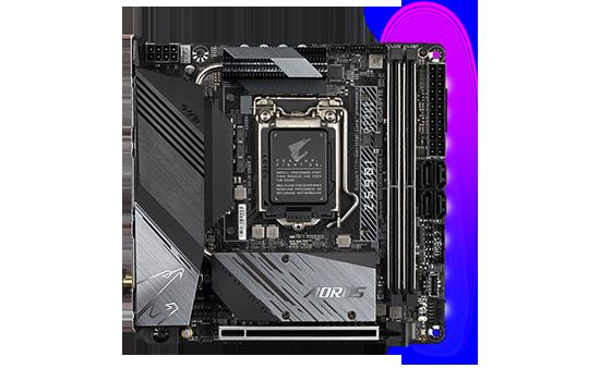 PLACA MÃE GIGABYTE Z590I AORUS ULTRA Z590 EXPRESS CHIPSET SOCKET1200 MINI-ITX DDR4