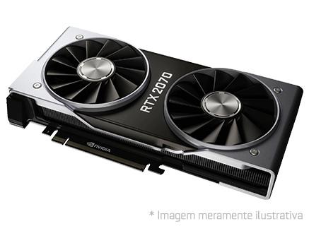 Placa de Vídeo NVIDIA GeForce Rtx 2070