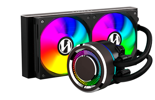 Water Cooler Lian Li, Galahad, RGB 240mm, Intel-AMD, Black, GA-240B BLACK