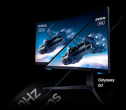 Monitor Gamer Curvo Samsung Odyssey 27