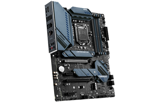 PLACA MÃE MSI MAG Z590 TORPEDO INTEL CHIPSET Z590 SOCKET 1200 ATX DDR4