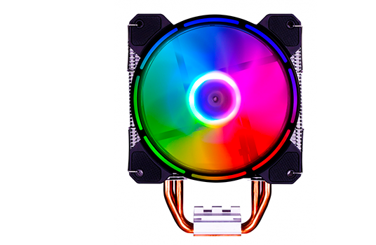 Cooler para Processador Super Flower Neon Air 122 ARGB, 120mm, Intel-AMD, SF-AY122