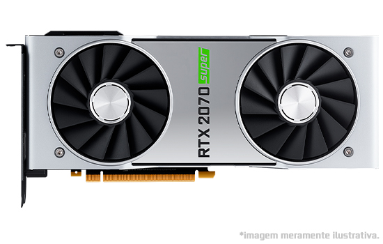 Placa de Vídeo NVIDIA GeForce GTX 2070 Super