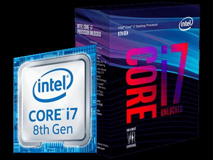 Processador Intel Core i7 8ª Geração
