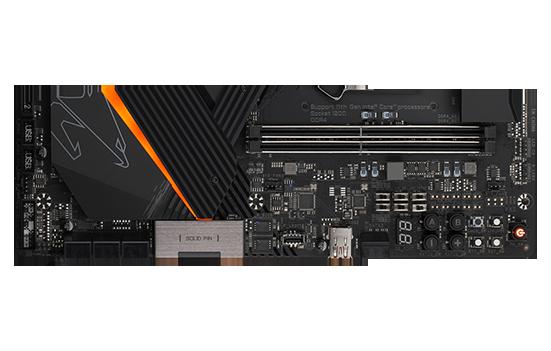 PLACA MÃE GIGABYTE Z590 AORUS TACHYONZ590 EXPRESS CHIPSET SOCEKT 1200 E-ATX DDR4