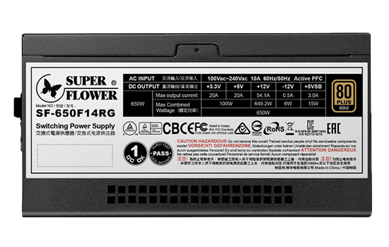 SF-650F14RG(BK)