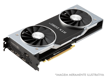 Placa de Vídeo NVIDIA GeForce Rtx 2080Ti