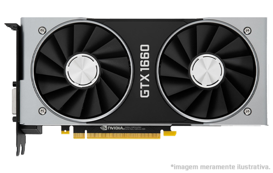 Placa de Vídeo NVIDIA GeForce GTX 1660