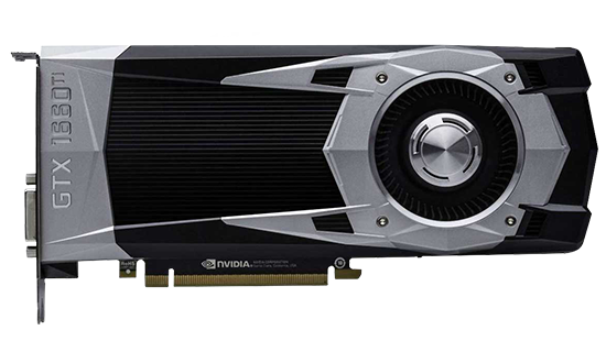 Placa de Vídeo NVIDIA GeForce GTX 1660 ti