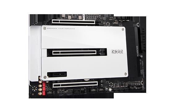 PLACA MÃE GIGABYTE Z590 VISION D Z590 EXPRESS CHIPSET SOCKET1200 ATX DDR4