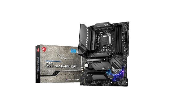 Placa Mãe MSI MAG Z590 TOMOHAWK WIFI, Intel Z590 Chipset, Socket 1200, ATX, DDR4