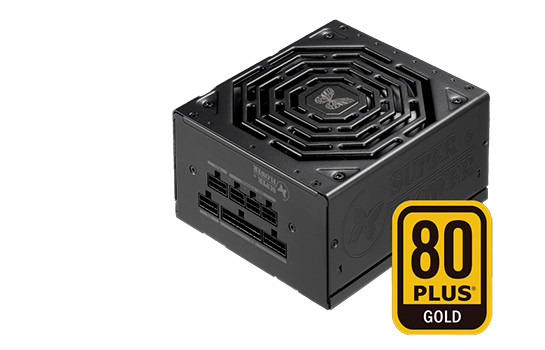 Fonte Super Flower LEADEX III 550W, 80 Plus Gold, PFC Ativo, SF-550F14HG
