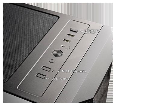 gabinete-gamer-lian-li-lancool-II-mesh-RGB