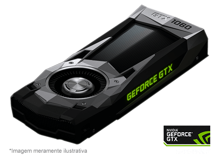 Placa de Vídeo NVIDIA GeForce GTX 1060