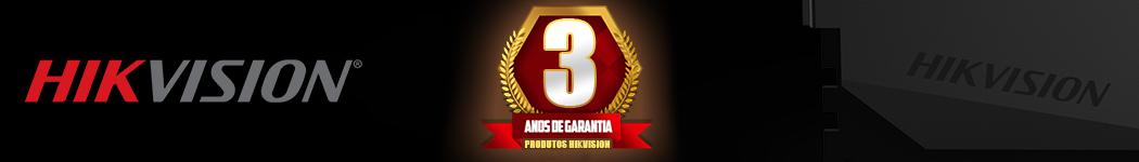 Hikvision 3 Anos Garantia
