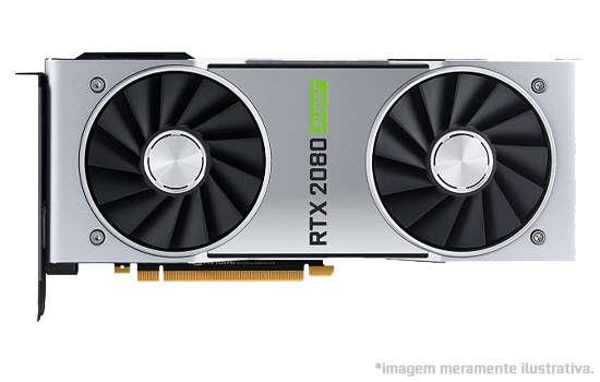 Placa de Vídeo NVIDIA GeForce Rtx 2080 Super