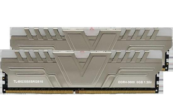 MEMÓRIA V-COLOR DDR4 SKYWALKER PRISM RGB 3000 U-DIMM 8GB 3000MHZ GRAY