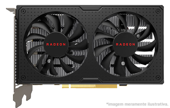 Placa de Vídeo AMD Radeon RX 570