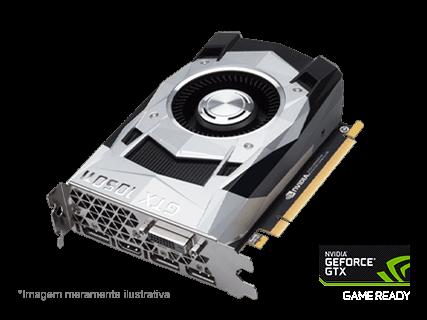 Placa de Vídeo NVIDIA GeForce GTX 1050 Ti