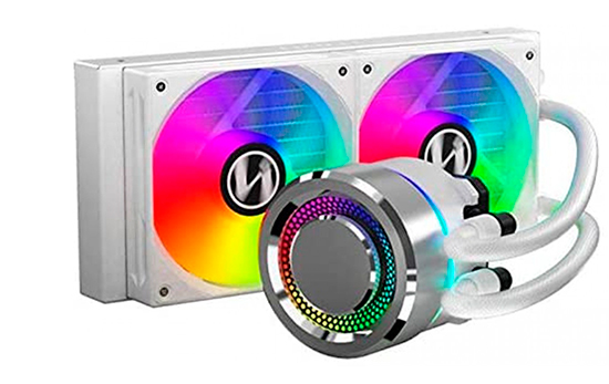 Water Cooler Lian Li, Galahad, RGB 240mm, White, GA-240A WHITE