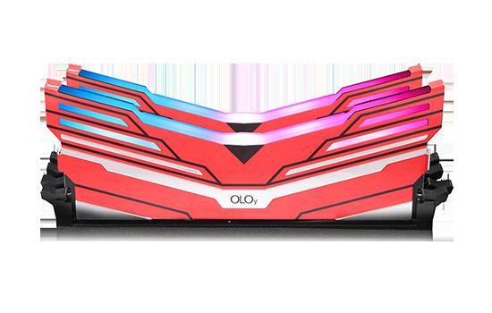 Memória DDR4 OLOy WarHawk White, 16GB (2x8GB), 3600MHZ, RGB, ND4U0836180BCWDX
