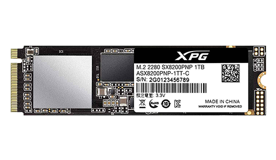 ssd xpg sx8200
