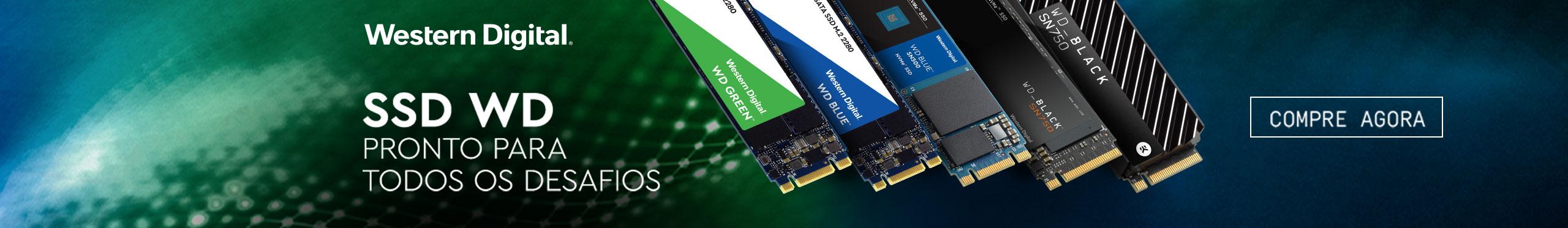 SSD Western Digital, prontos para todos os desafios, Clique e confira!