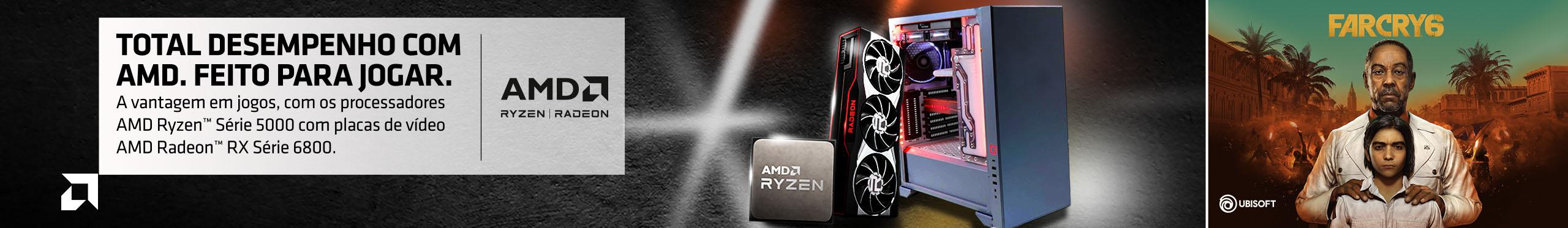 AMD Radeon RX - Série 6800 - Feito para Jogar!