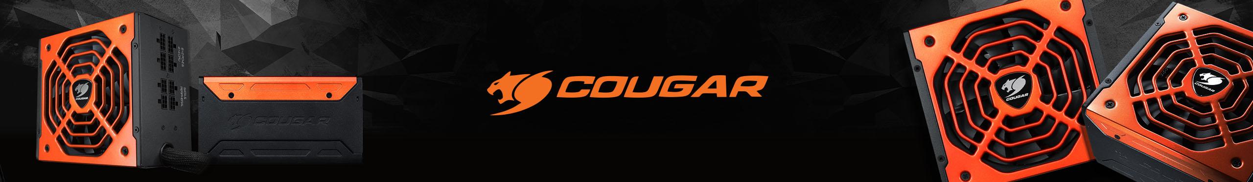Fonte Cougar - Tensão estável e resfriamento mais suave.