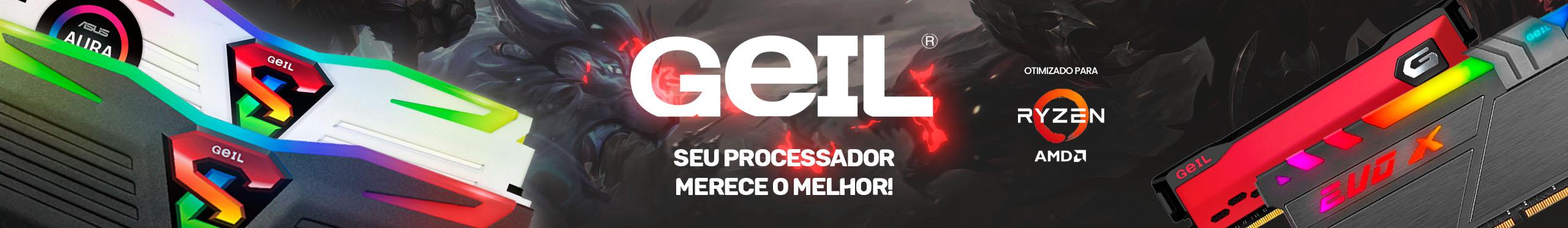 Memória GEIL - Otimizado para AMD RYZEN
