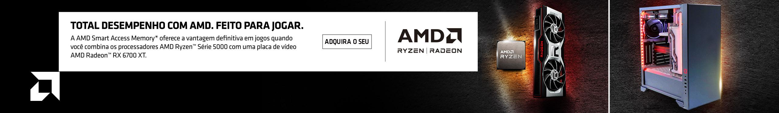 Banner de lançamento AMD Radeon RX 6700 XT