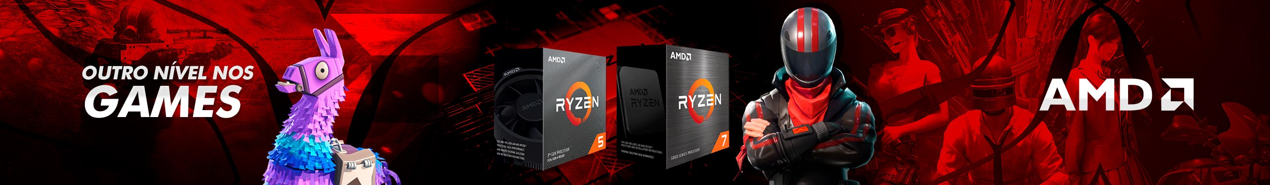 Banner AMD Processadores Abril 2021