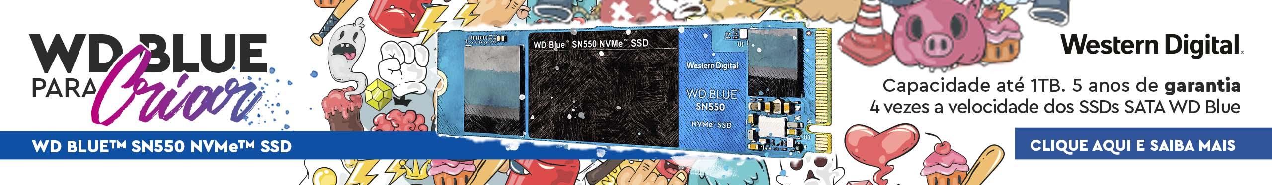 Banner WD Blue para criar Abril 2021