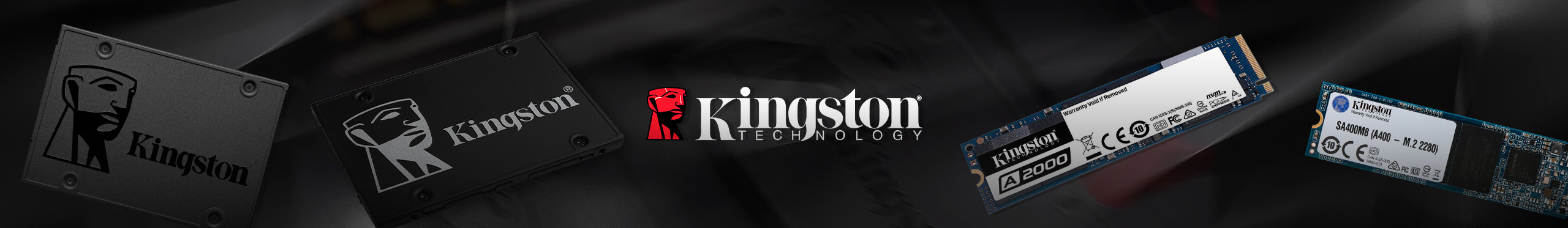 Banner SSDs Kingston - Maio 2021