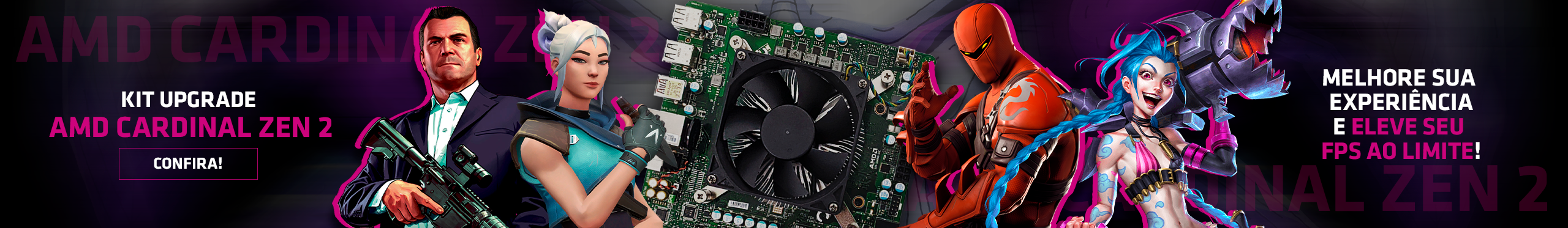 Kit upgrade - AMD CARDINAL ZEN 2