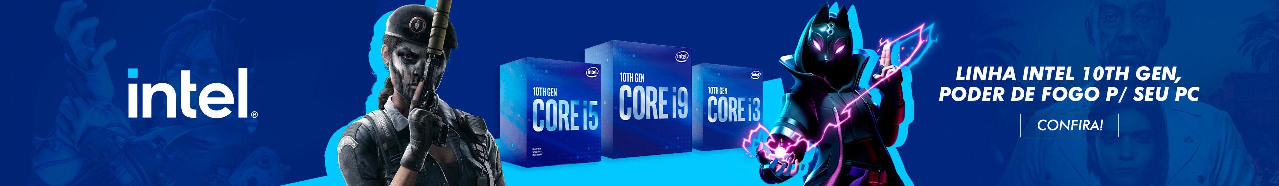 Intel 10th Geração - Julho 2021