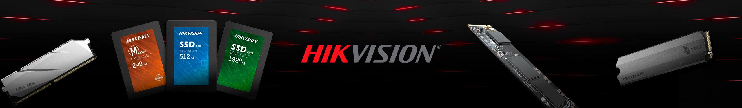 Acelere e otimize seu sistema com os SSDs Hikvision.