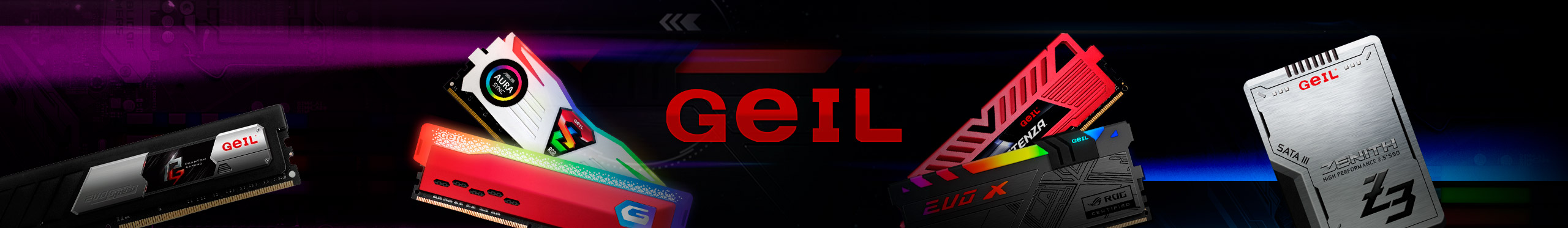 Velocidades incríveis é só com as memórias Geil!