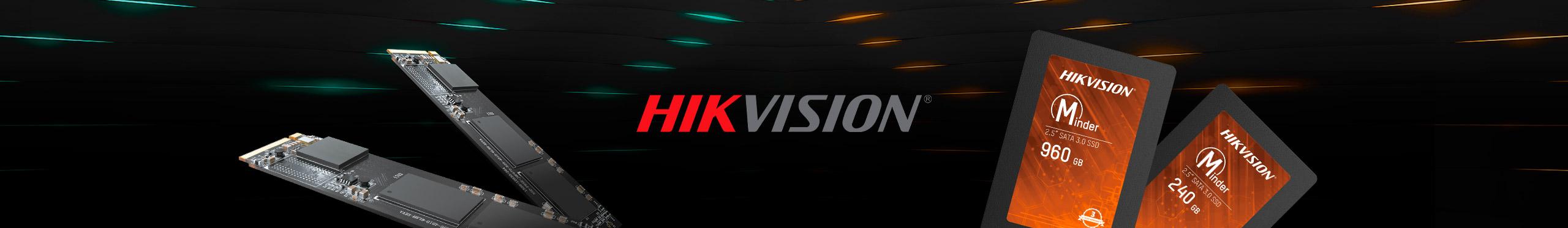 Os SSDs Hikvision são ideais para acelerar a inicialização e o desempenho da sua máquina.