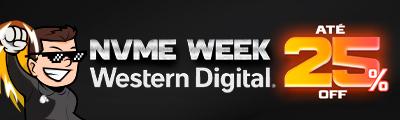 Ofertas de até 25% em SSDs NVMe da Western Digital é só na TerabyteShop!