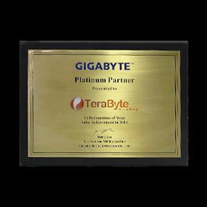 Prêmio Terabyteshop Gigabyte Platina