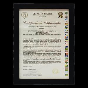 Prêmio Terabyteshop Quality Certificados