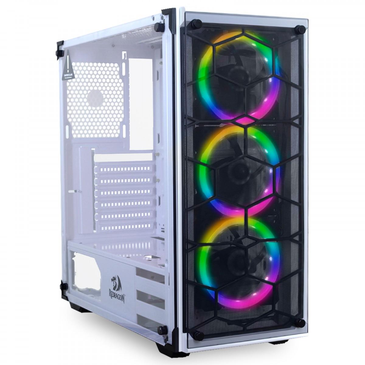Pc Gamer Redragon Edition AMD Ryzen 5 3600 / Radeon RX 590 8GB / DDR4 8GB / HD 1TB / SSD 120GB / 600W
