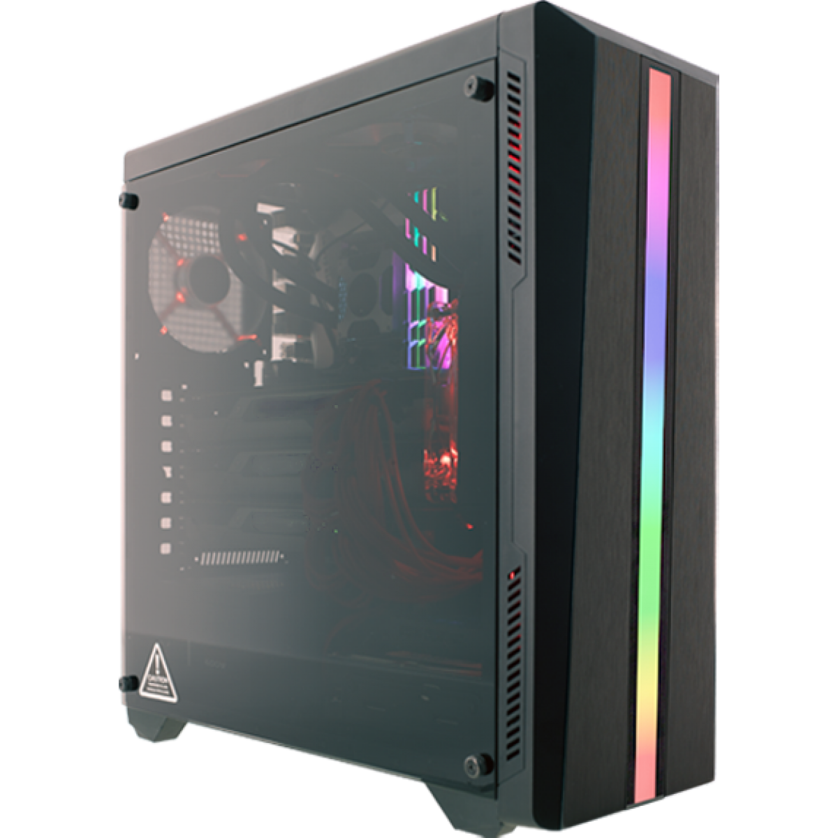 Pc Gamer Super Streamer Lvl-4 Amd Ryzen 5 2600X 3.6GHZ / Geforce Rtx 2060 6gb / 8gb Ddr4 / Hd 1tb / 600W